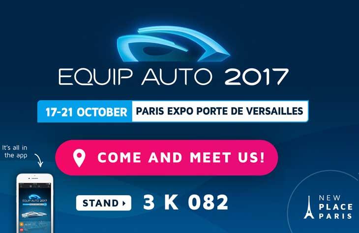Sacer | Equip Auto 2017 Invitation