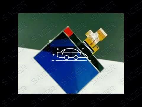 Sacer SA1004-2 - LCD Display With FPC For Peugeot 407 Demo