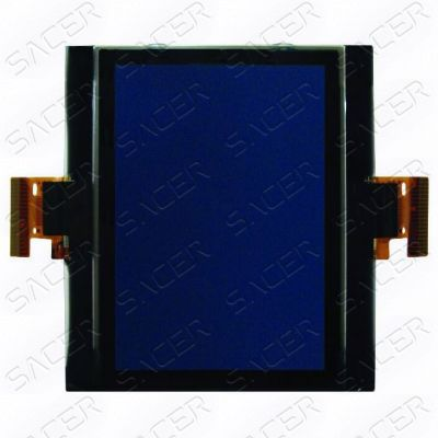 SA1212 - LCD Display with  two FPC (Blue Background) for Skoda Octavia, Golf V